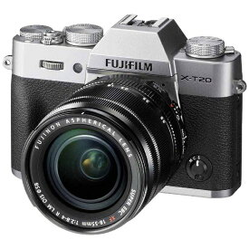 富士フイルム FUJIFILM FUJIFILM X-T20【レンズキット】(シルバー/ミラーレス一眼カメラ)[FXT20LKS]