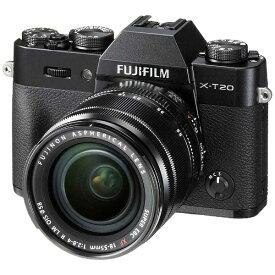 富士フイルム FUJIFILM X-T20-B ミラーレス一眼カメラ ブラック [ズームレンズ][FXT20LKB]