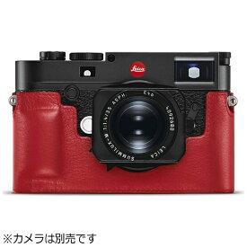ライカ Leica ライカM10用 レザープロテクター(レッド) 24022
