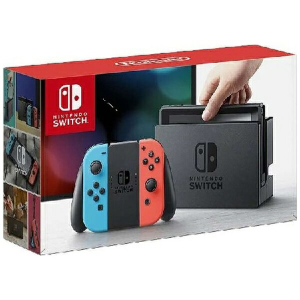 【送料無料】 任天堂 【10%OFFクーポン 7/14 19:00〜7/15 23:59】Nintendo Switch Joy-Con(L) ネオンブルー/(R) ネオンレッド(ニンテンドースイッチ) [ゲーム機本体]