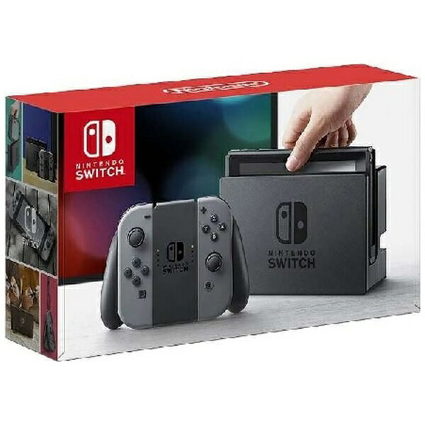 【送料無料】 任天堂 【10%OFFクーポン 7/14 19:00〜7/15 23:59】Nintendo Switch Joy-Con(L)/(R) グレー(ニンテンドースイッチ) [ゲーム機本体]