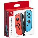 任天堂 Nintendo 【純正】Joy-Con(L) ネオンレッド/(R) ネオンブルー【Switch】 【代金引換配送不可】