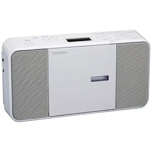東芝 CDラジオ(ラジオ+CD)(ホワイト) TY-C250W[TYC250W]