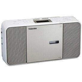 東芝 TOSHIBA CDラジオ TY-C300 サテンゴールド [ワイドFM対応][TYC300N]