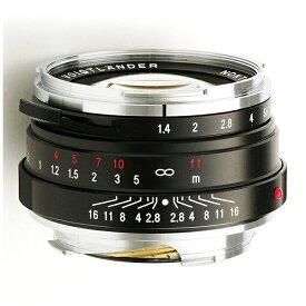 フォクトレンダー Voigtlander カメラレンズ 40mm F1.4 SC(シングルコート) NOKTON Classic Series(ノクトン クラシックシリーズ) ブラック [ライカM /単焦点レンズ][ノクトン40MMF14SC]