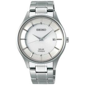 セイコー SEIKO [ソーラー時計]セイコーセレクション(SEIKO SELECTION) 「ソーラーチタンペアモデル」 SBPX101 【日本製】[SBPX101]