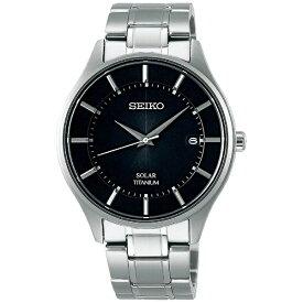 セイコー SEIKO [ソーラー時計]セイコーセレクション(SEIKO SELECTION) 「ソーラーチタンペアモデル」 SBPX103 【日本製】