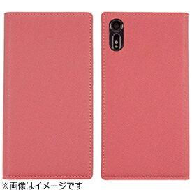 ROA ロア Xperia XZ用 手帳型ケース Saffiano Flip Case ベビーピンク LB9225XXZ