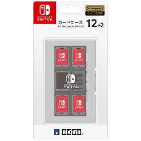 HORI ホリ カードケース12+2 for Nintendo Switch ホワイト【Switch】 【代金引換配送不可】