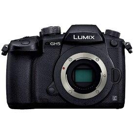 パナソニック Panasonic DC-GH5-K ミラーレス一眼カメラ LUMIX GH5 ブラック [ボディ単体][DCGH5]