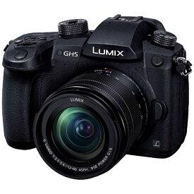 パナソニック Panasonic DC-GH5M-K ミラーレス一眼カメラ 標準ズームレンズキット LUMIX GH5 ブラック [ズームレンズ][DCGH5M]
