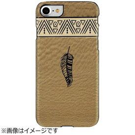 ROA ロア iPhone 7用 Premium 天然木ケース エジプト Man&Wood I9278I7