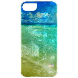 ROA ロア iPhone 7用 天然貝ケース ビーチ ホワイトフレーム ikins I9281I7