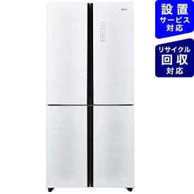 ハイアール Haier 《基本設置料金セット》JR-NF468A-W 冷蔵庫 Global Series ホワイト [4ドア /観音開きタイプ /468L][冷蔵庫 大型 両開き JRNF468A_W]【要事前見積り】
