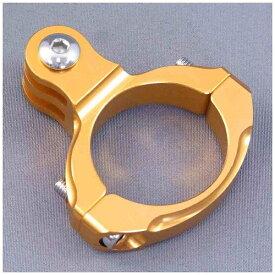 GOBROS. ゴブロス 31.8mmハンドルバー・クランプマウント -Standard(ゴールド) GB0106[GB0106]