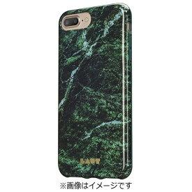イツワ商事 ITSUWA SHOJI iPhone 7 Plus用 LAUT HUEX ELEMENTS マーブルエメラルド LAUTIP7PHXEMGN