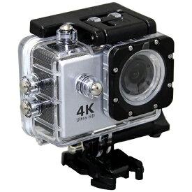 SAC エスエーシー AC600 アクションカメラ Silver [4K対応 /防水][AC600S]【0426_rb】