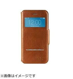 イツワ商事 ITSUWA SHOJI iPhone 7用 手帳型 SWIPE WALLET ブラウン IDSWII703