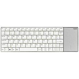 UNIQ ユニーク キーボード rapoo ホワイト E2710W [USB /ワイヤレス][E2710W]