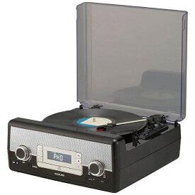 コイズミ KOIZUMI USB端子搭載マルチレコードプレーヤー SAD9801K[SAD9801K]