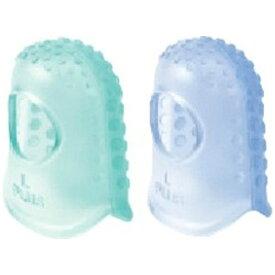 プラス PLUS [紙めくり] メクリッコ ハニカム (2トーンカラータイプ) Lサイズ グリーン・ブルー 各1個 KM-303H