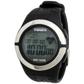 クレファー CREPHA ティー・スポーツ(T-SPORTS) 心拍計測機能付き腕時計 TS-D028-BK [正規品]