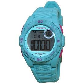クレファー CREPHA ティー・スポーツ(T-SPORTS) デジタル腕時計 TS-D036-BL ブルー [正規品]