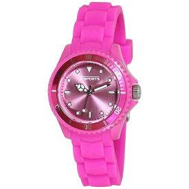 クレファー CREPHA ティー・スポーツ(T-SPORTS) デジタル腕時計 TS-A049-PK ピンク [正規品]