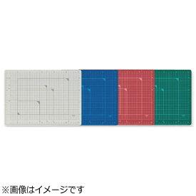 プラス PLUS [カッティングマット] カッティングマット カラータイプ 両面使用 A4 グリーン CS-A4