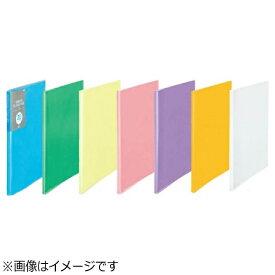 プラス PLUS [ファイル] シンプルクリアーファイル A4-S ブルー 20ポケット FC-220SC