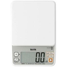 タニタ TANITA デジタルクッキングスケール(2kg) KJ-215-WH ホワイト[KJ215WH]