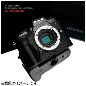 GRAIZ ゲリズ 本革カメラケース Canon EOS M5用 (ブラック)XS-CHEOS5BK[XSCHEOS5BK]