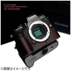 GRAIZ ゲリズ 本革カメラケース Canon EOS M5用 (ブラウン)XS-CHEOS5BR[XSCHEOS5BR]