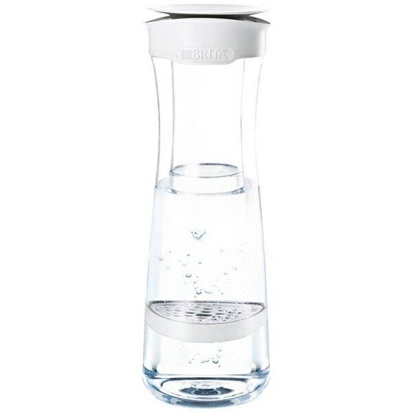 ブリタ ポット型浄水器 「フィル&サーブ」(浄水部容量0.43L) BJSWG ホワイトグラファイト[BJSWG]