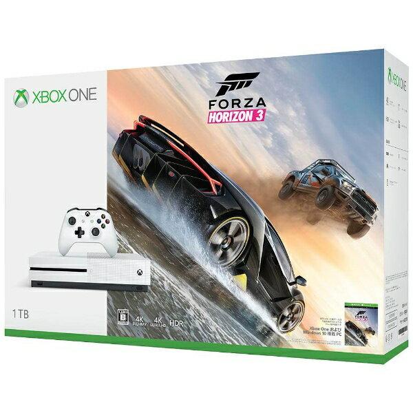 【送料無料】 マイクロソフト Xbox One S(エックスボックスワン エス) 1TB(Forza Horizon 3 同梱版) [ゲーム機本体]