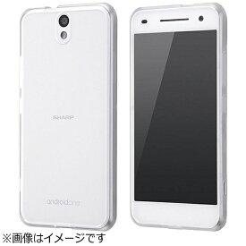 レイアウト rayout Android One S1用 ハイブリッドケース クリア RT-ANO2CC2/C