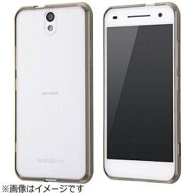 レイアウト rayout Android One S1用 ハイブリッドケース ブラック RT-ANO2CC2/B