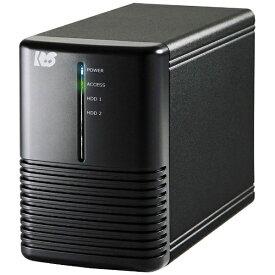 ラトックシステム RATOC Systems USB3.1 Gen 2 RAIDケース(HDD2台用・10Gbps対応) RS-EC32-U31R