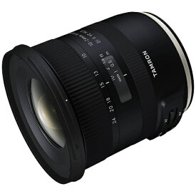 タムロン TAMRON カメラレンズ 10-24mm F3.5-4.5 Di II VC HLD APS-C用 ブラック B023 [キヤノンEF /ズームレンズ][B0231024DI2VCHLD]