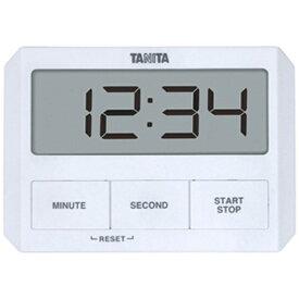 タニタ TANITA キッチンタイマー TD-409 ホワイト[TD409WH]