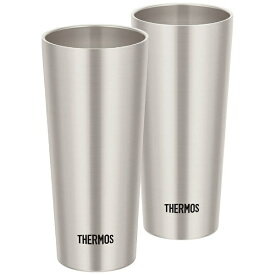 サーモス THERMOS 真空断熱タンブラー2個セット (0.4L) JDI-400P-S