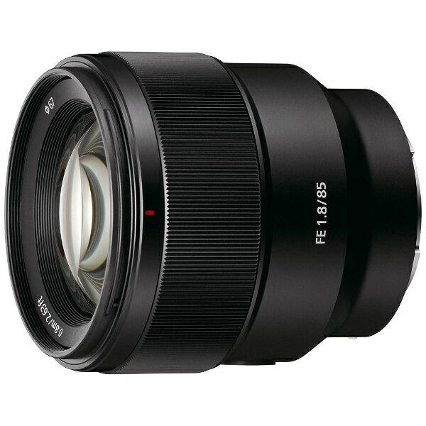 【送料無料】 ソニー SONY カメラレンズ FE 85mm F1.8【ソニーEマウント】