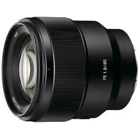 ソニー SONY カメラレンズ FE 85mm F1.8 ブラック SEL85F18 [ソニーE /単焦点レンズ][SEL85F18]