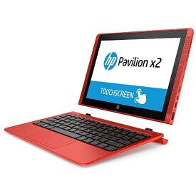 HP ヒューレット・パッカード T0Z06PA-AAAA ノートパソコン Pavilion x2 10-n140TU サンセットレッド [10.1型 /intel Atom /eMMC:64GB /メモリ:2GB /2015年11月モデル][T0Z06PAAAAA]