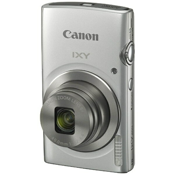 キヤノン CANON IXY200 コンパクトデジタルカメラ IXY(イクシー) シルバー[IXY200SL]