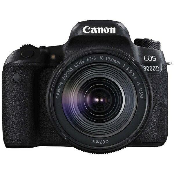 【送料無料】 キヤノン CANON EOS 9000D(W)【EF-S18-135 IS USM レンズキット】/デジタル一眼レフカメラ[EOS9000D18135ISUSMLK]