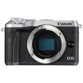 キヤノン CANON EOS M6 ミラーレス一眼カメラ シルバー [ボディ単体][EOSM6SLBODY]