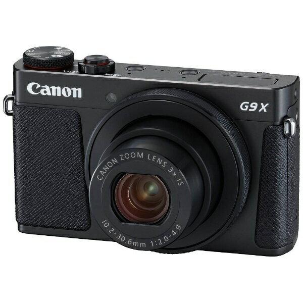 【送料無料】 キヤノン CANON コンパクトデジタルカメラ PowerShot(パワーショット) G9 X Mark II(ブラック)