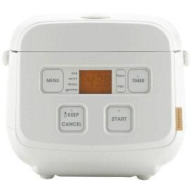 TAGlabel by amadana タグレーベル バイ アマダナ 【ビックカメラグループオリジナル】マイコン炊飯ジャー rice cooker AT-RM11(W) ホワイト [3合 /マイコン][一人暮らし おしゃれ ATRM11W]【point_rb】