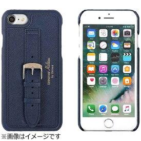 HAMEE ハミィ iPhone 6s/6用 trouver Milieu ベルト付きハードケース ネイビー